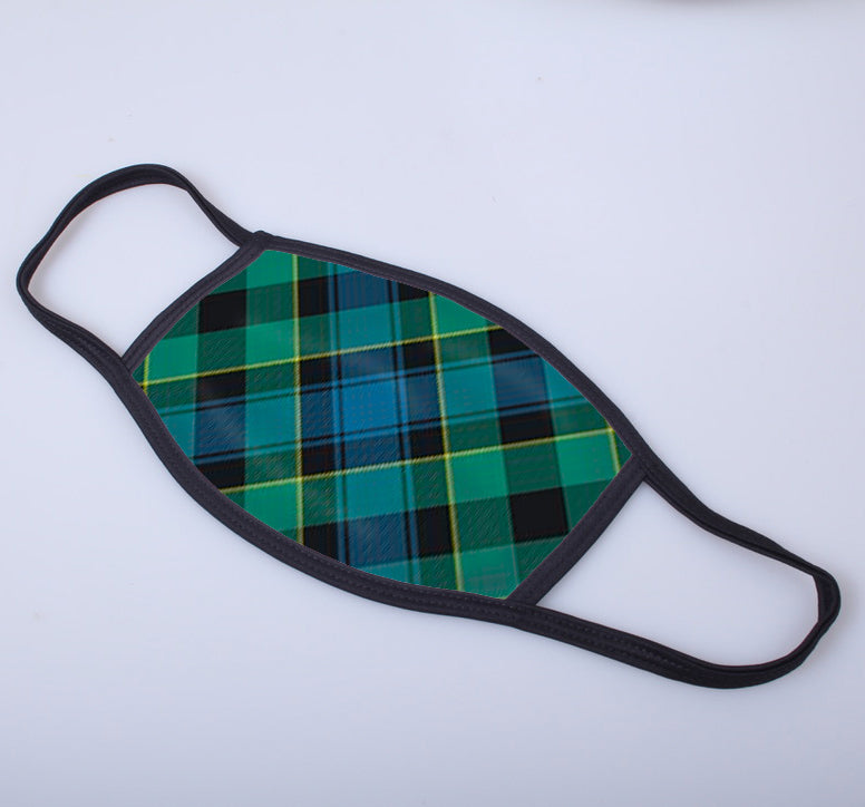 Mouat / Mowat Tartan Printed Face Mask