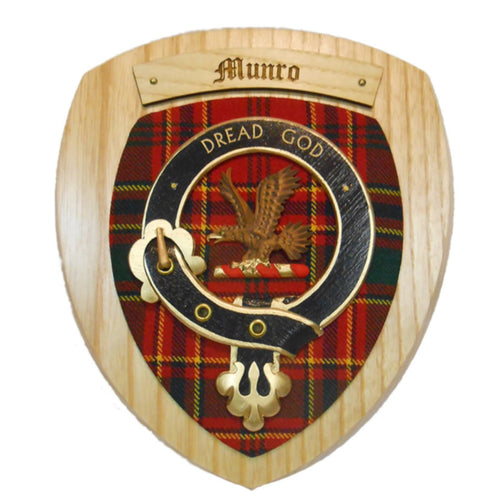 Munro Clan Crest Plaque