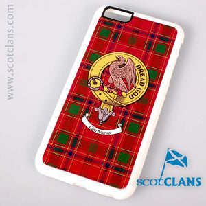 Munro Tartan and Clan Crest iPhone Rubber Case - 4 - 7