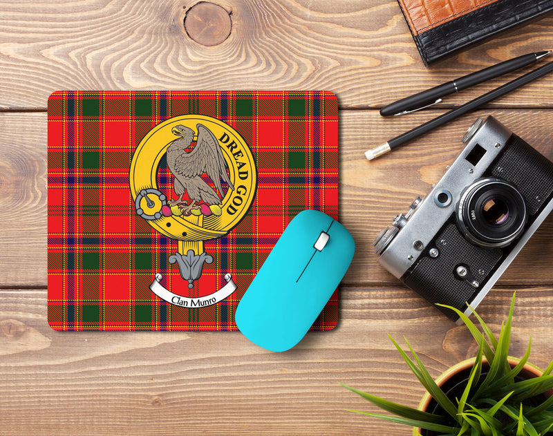 Munro Clan Crest Mouse Pad