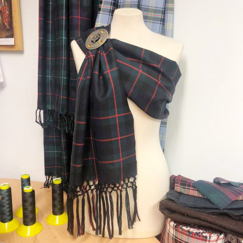 Murray of Atholl Modern Hand Knotted Tartan Sash