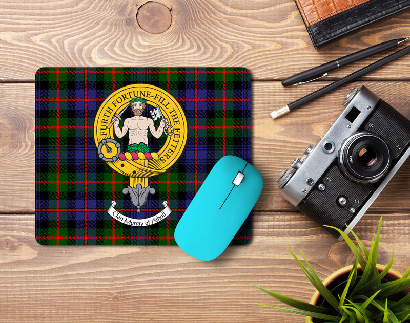 Murray of Athol Clan Crest Mouse Pad