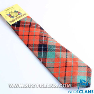 Pure Wool Tie in Nicolson Ancient Tartan