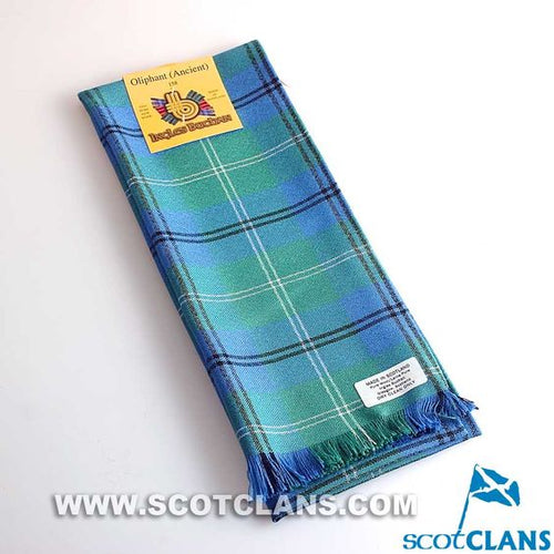 Wool Scarf in Oliphant Ancient Tartan