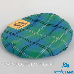 Pure Wool Golf Cap in Oliphant Ancient Tartan