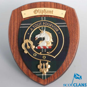 Oliphant Clan Crest Plaque