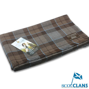 Official Outlander Wool Tartan Shawl.