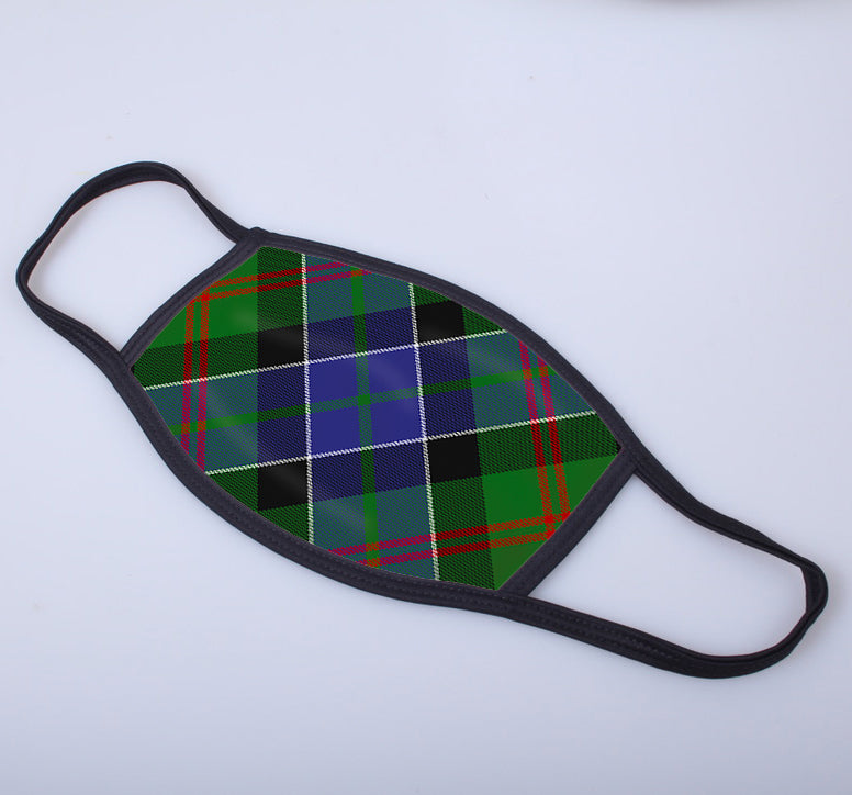 Paterson Tartan Printed Face Mask.