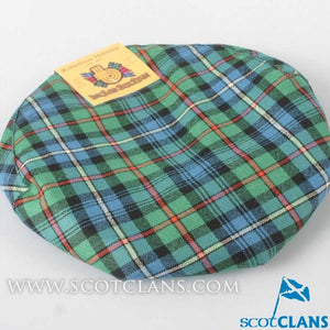 Pure Wool Golf Cap in Robertson Hunting Ancient Tartan