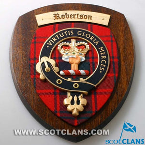 Robertson Clan Crest Plaque