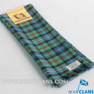Wool Scarf in Robertson Hunting Ancient Tartan