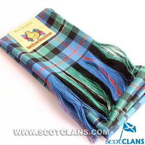 Wool Full Length Sash in Rose Hunting Ancient Tartan