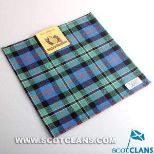 Pocket Square in Rose Hunting Ancient Tartan