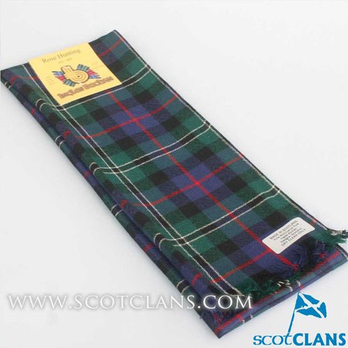 Scarf in Rose Hunting Modern Tartan