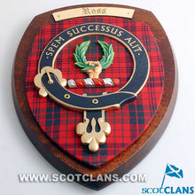 Ross Clan Crest Plaque