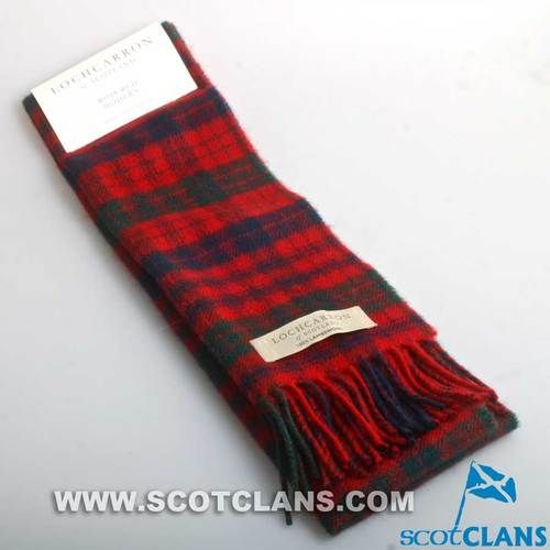 Lambswool Scarf in Ross Modern Tartan
