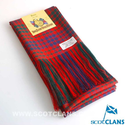 Wool Full Length Sash in Ross Modern Tartan