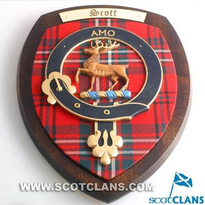 Scott Clan Crest Plaque