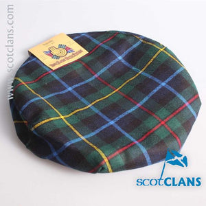 Pure Wool Golf Cap in Smith Modern Tartan