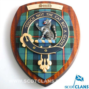 Smith Clan Crest Plaque