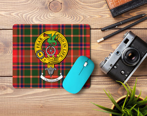 Somerville Clan Crest Mouse Pad