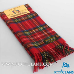 Lambswool Scarf in Royal Stewart Modern Tartan