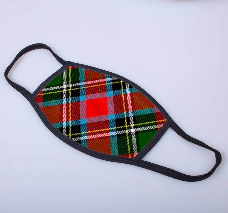 Royal Stewart Tartan Printed Face Mask
