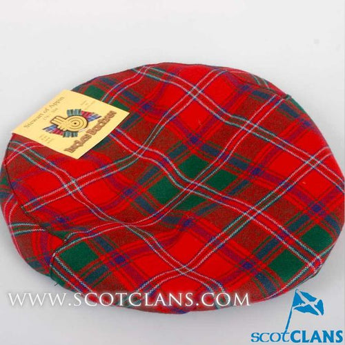 Pure Wool Golf Cap in Stewart of Appin Modern Tartan