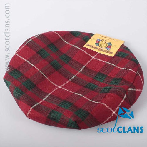 Pure Wool Golf Cap in Stuart of Bute Tartan
