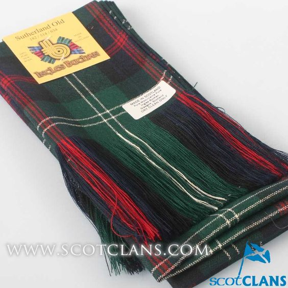 Full Length Sash in Sutherland Modern Tartan