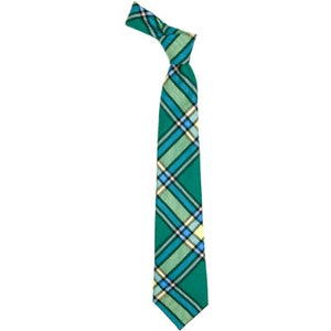 Pure Wool Tie in Alberta Tartan