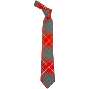 Pure Wool Tie in Bruce Ancient Tartan