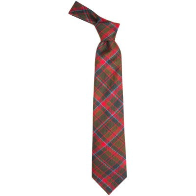 Pure Wool Tie in Buchan Weathered Tartan
