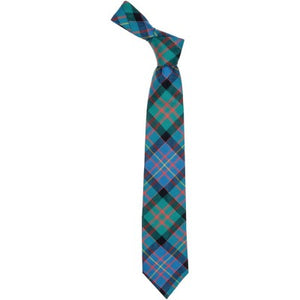 Pure Wool Tie in Cameron of Erracht Ancient Tartan