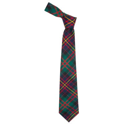 Pure Wool Tie in Cameron of Erracht Modern Tartan