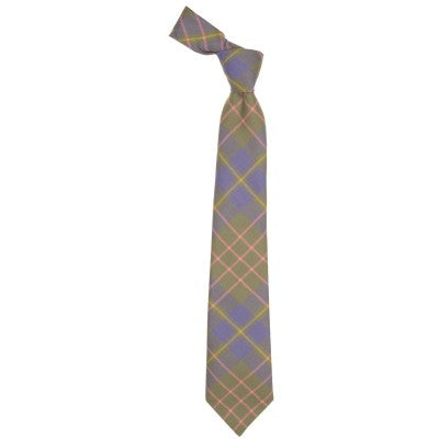 Pure Wool Tie in Cameron Hunting Ancient Tartan