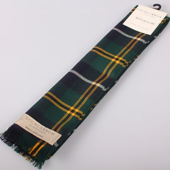 Luxury Lightweight Scarf in Turnbull Modern Tartan