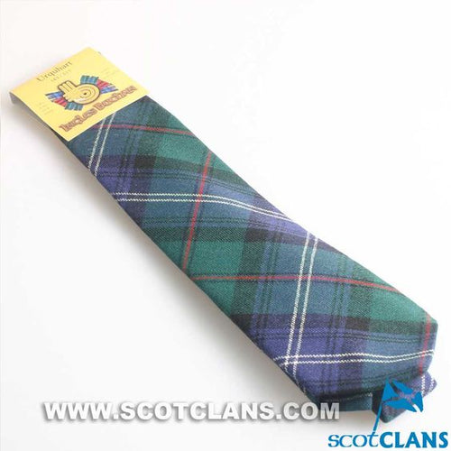 Pure Wool Tie in Urquhart Ancient Tartan