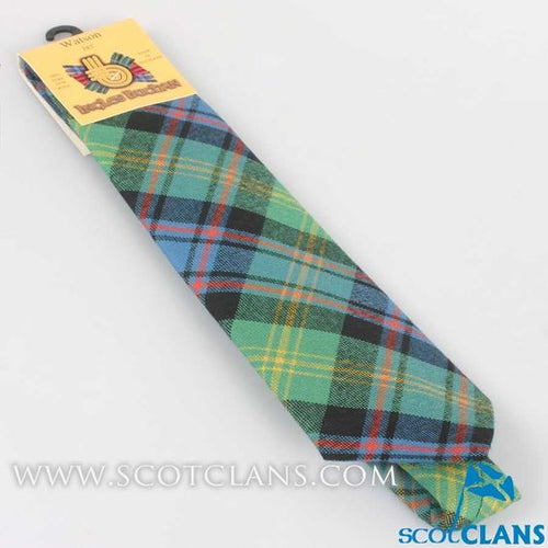 Pure Wool Tie in Watson Ancient Tartan