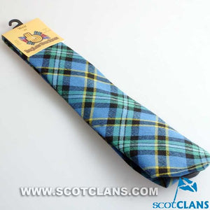 Pure Wool Tie in Weir Ancient Tartan
