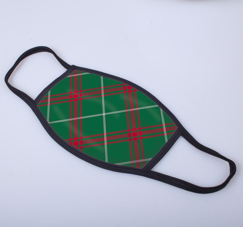 Welsh National Tartan Printed Face Mask