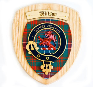 Wilson Clan Crest Plaque