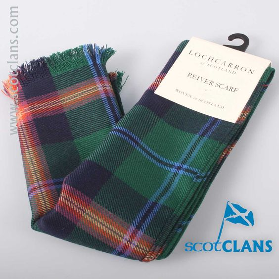 Luxury Lightweight Scarf in Young Modern Tartan