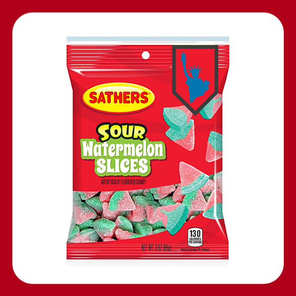 Sathers Sour Watermelon Slices (USA)