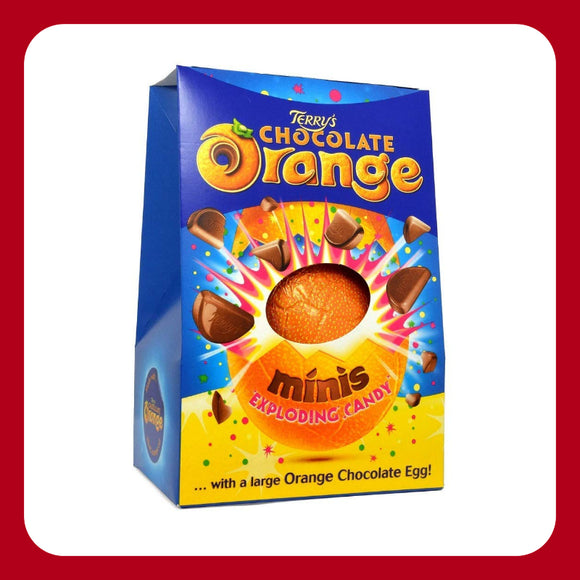 Terry's Chocolate Orange Exploding Candy Easter Egg