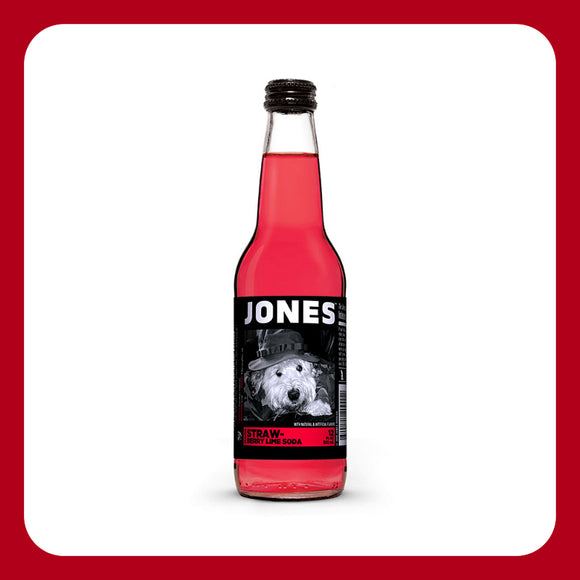 Jones Strawberry Lime Soda (USA)