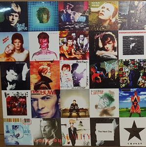 David Bowie Album Covers Ziggy Stardust Canvas Print Size 15 x 15 Inches  Brand New