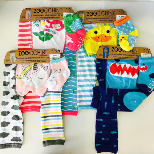 Legging & Sock Sets 12-18M