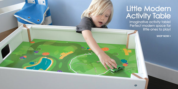 Little modern activity table