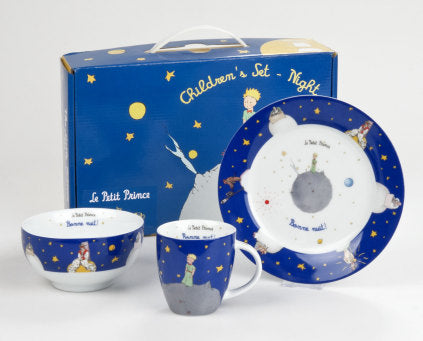 3 pieces set The Little Prince - Blue